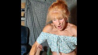 REDHEAD MATURE BITCH REMEMBER HER CHILDHOOD TIMES WHEN SHE GETS HARDCORE FUCKED IN HER HOUSE BY A BIG FAT COCK IN THE REVERSE COWGIRL POSITION