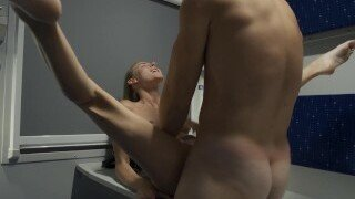 Little Berry is fucked in her ass and pussy by her brother after he heard her friends teasing her about being terrible at fucking.